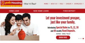 PNB Housing website