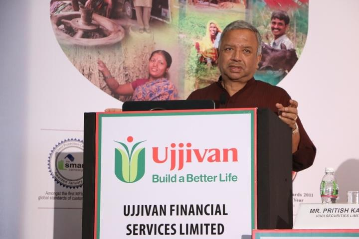 Ujjivan Financial Services Samit Ghosh