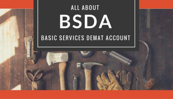Basic Services Demat Account BSDA